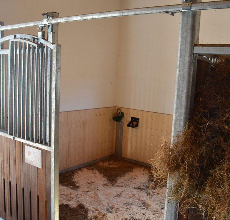 Einstellbox neuer Stall