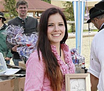 Eva-Maria Wild. Norikerzucht beim Meinrad. Zirl in Tirol